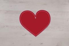Mobile coeur à suspendre