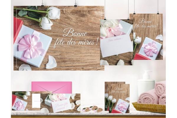 Pack Fête des Mères rose