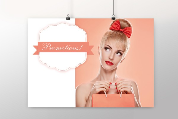 """Affiche """"Promotion"""""""