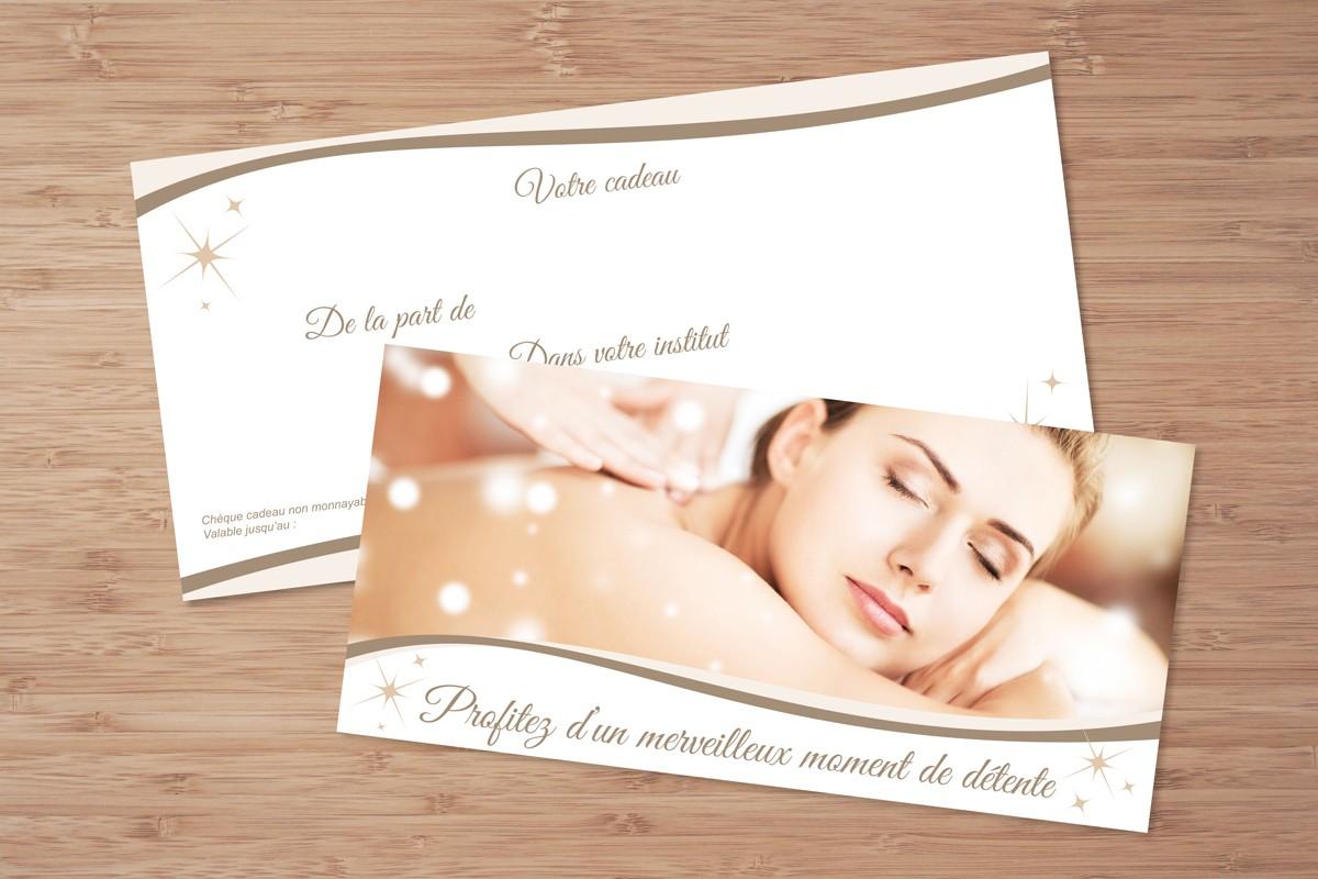 Bien connu Chèques cadeaux personnalisés Fêtes pour instituts, spas, parfumeries II24