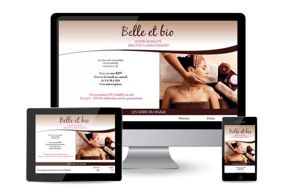 Création d'un site internet 1 page