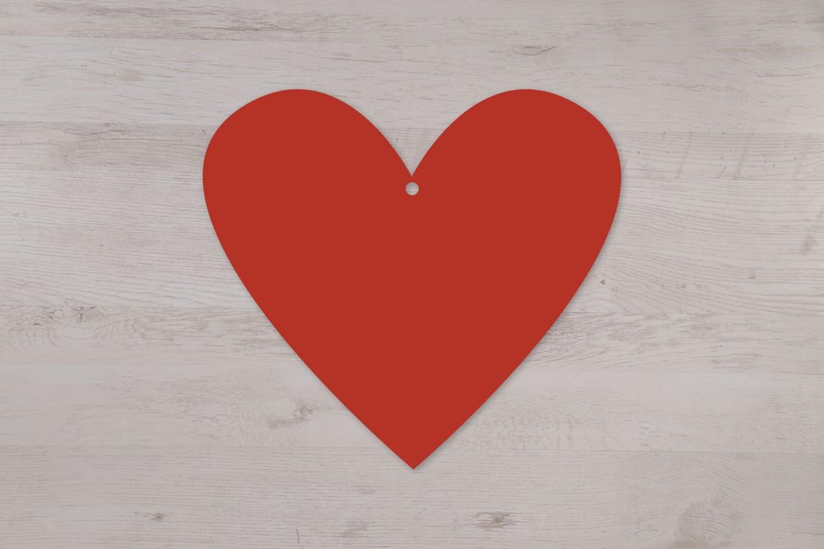 Mobile à suspendre en forme de coeur