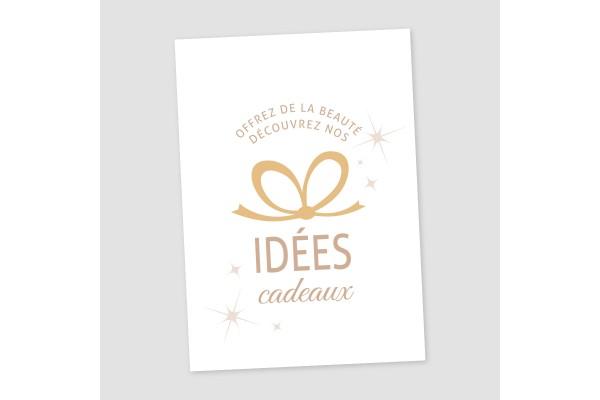 """Vitrophanie """"idées cadeaux"""""""