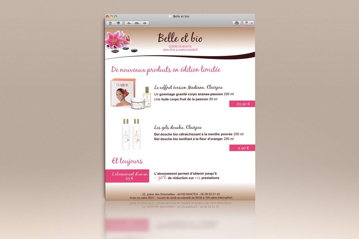 Création d'un site internet 3 pages